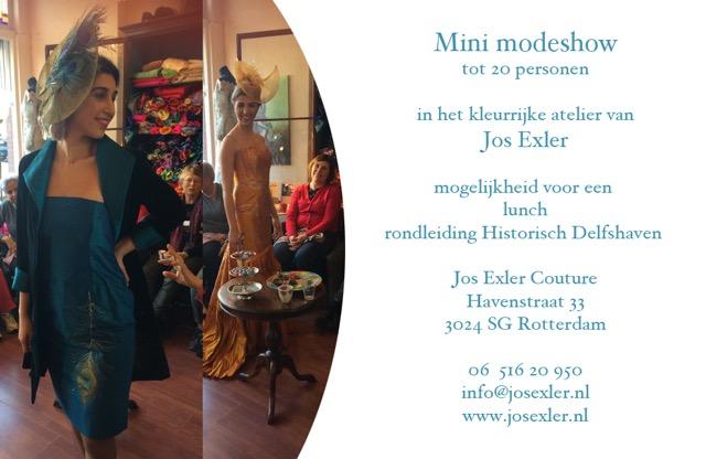Mini modeshow PR