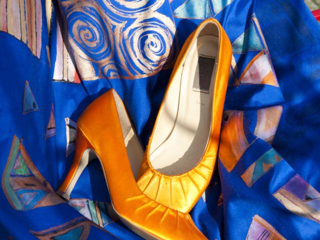 Beschilderde Schoenen